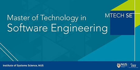 NUS-ISS Master of Technology in Software Engineering Online Info Session tickets