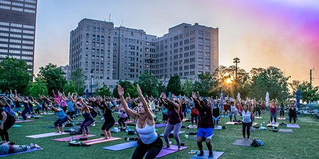 Silent Disco Yoga at Beacon Park by City Glow Yoga™ tickets