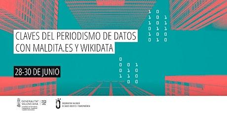 Claves del periodismo de datos con Maldita.es y Wikidata entradas