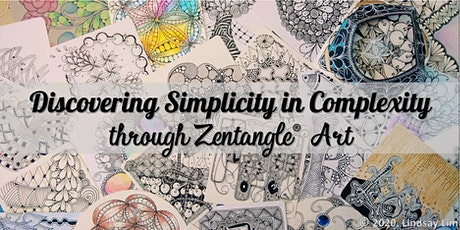 Zentangle Art Course starts  Aug 6 (8 sessions) tickets