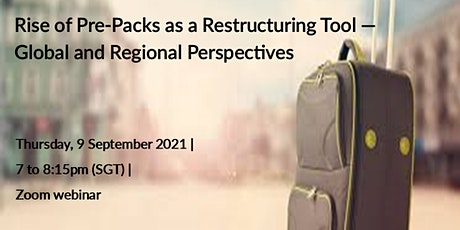 Rise of Pre-Pack as a Restructuring Tool — Global and Regional Perspectives tickets