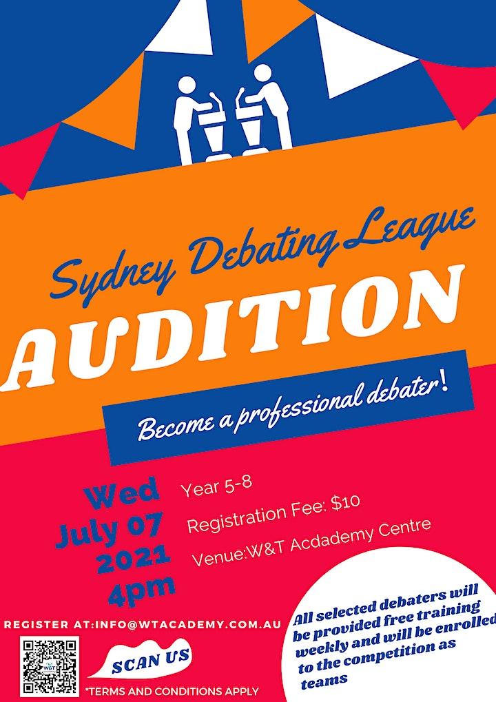 Sydney Debating League Audition image