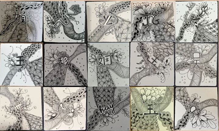 Zentangle Art Course starts  Aug 6 (8 sessions) image