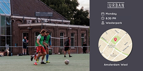 FC Urban Match AMS Ma 14 Jun Westerpark Match 3 tickets