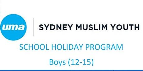 SMY BOYS SCHOOL HOLIDAY PROGRAM tickets