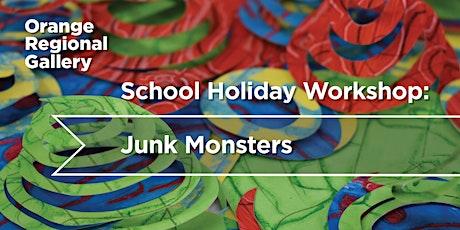 Junk Monsters  - School Holiday Workshop tickets