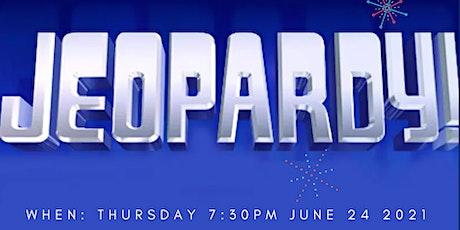 RSBO Jeopardy Trivia Night June 24 2021 tickets