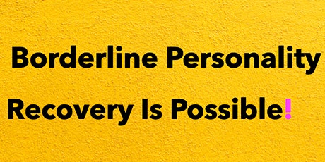 BPD: Recovery Is Possible! tickets