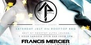 July 4th Open Bar Rooftop Party at The Attic NYC