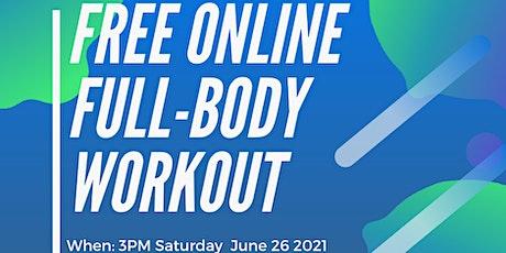 RSBO Full Body Workout June 26 2021 billets