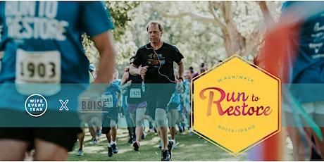 Run to Restore 5k tickets