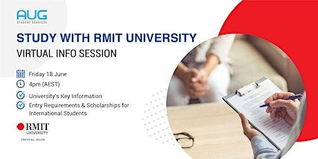 [AUG Talk] Study with RMIT University tickets