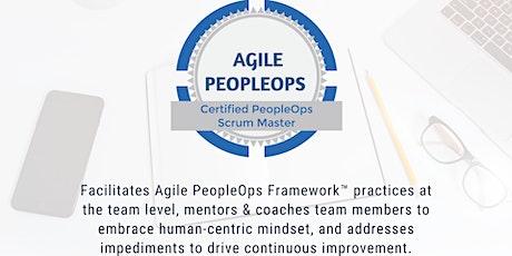 APF Certified PeopleOps Scrum Master™ (APF CPSM™) | Jul 17-18, 2021 tickets