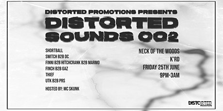 Distorted Sounds 002 tickets