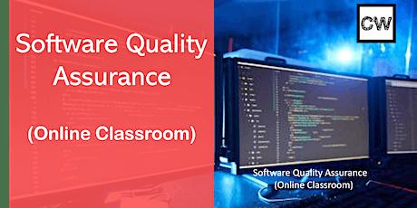 Software Quality Assurance (Online Classroom) tickets