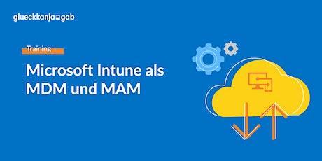 Microsoft Intune als MDM und MAM via Teams Meeting Tickets