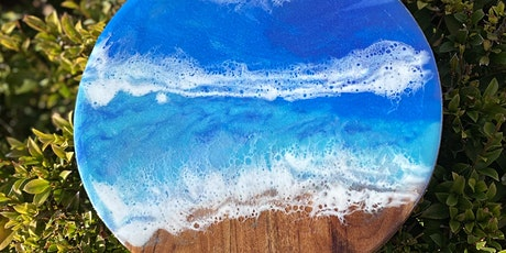 Resin art in the Flinders (18 +beginners)in Quorn change of location *** tickets