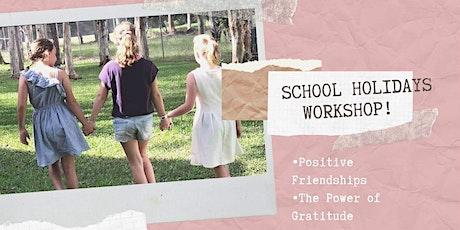 School Holidays Workshop tickets