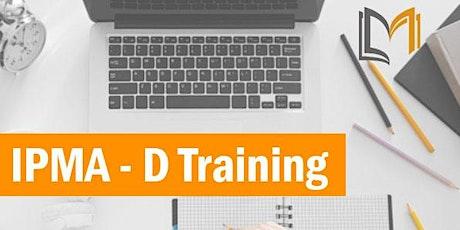 IPMA - D 3 Days Training in Toluca de Lerdo boletos