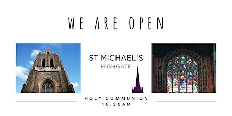 Holy Communion Service & Sunday School - 13 June 2021 tickets
