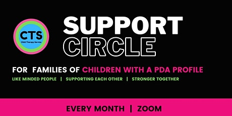 Support Group - for Families of Children with a PDA Profile tickets