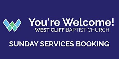 West Cliff Baptist Church Sunday Service -  Sunday 13th June tickets