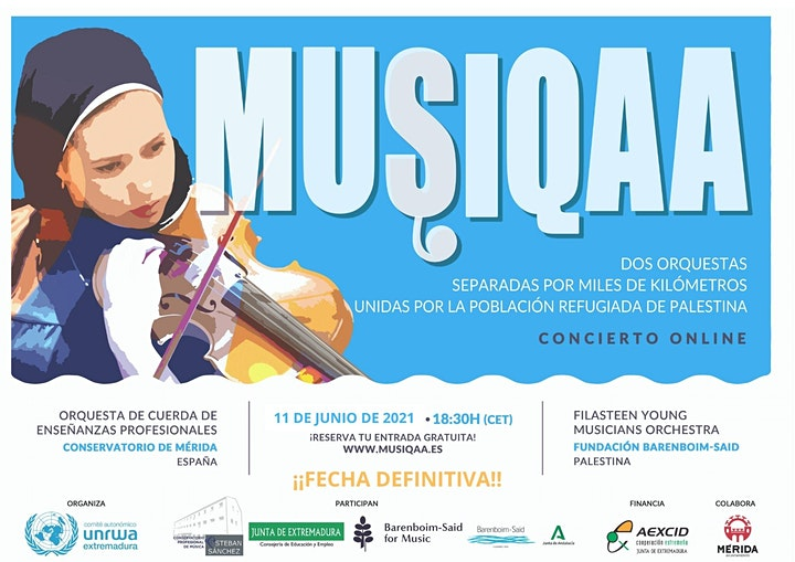 Imagen de MUSIQAA Concierto online ¡Fecha definitiva!