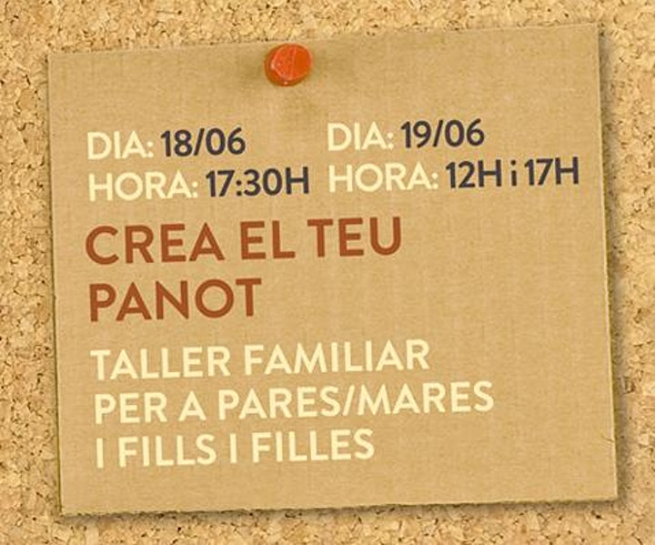 Imagen de TALLER MANUALITATS - CREA EL TEU PANOT (17:00)