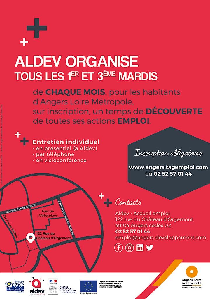Image pour Réunion d'information sur les actions emploi d'Aldev - Juin /Juillet 2021