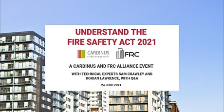 Understand the Fire Safety Act 2021 tickets