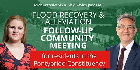 Flood Recovery Update Meeting for Pontypridd Residents tickets