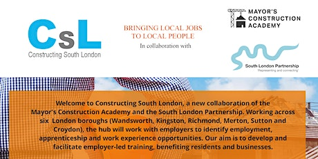 Construct South London Busting the Myths of construction for young people tickets