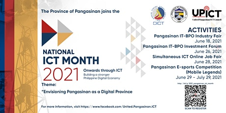 Pangasinan ICT Month Celebration - Investment Forum tickets