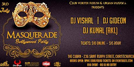 Masquerade Bollywood Party _ CHCH tickets