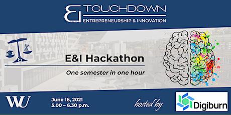 E&I Hackathon tickets