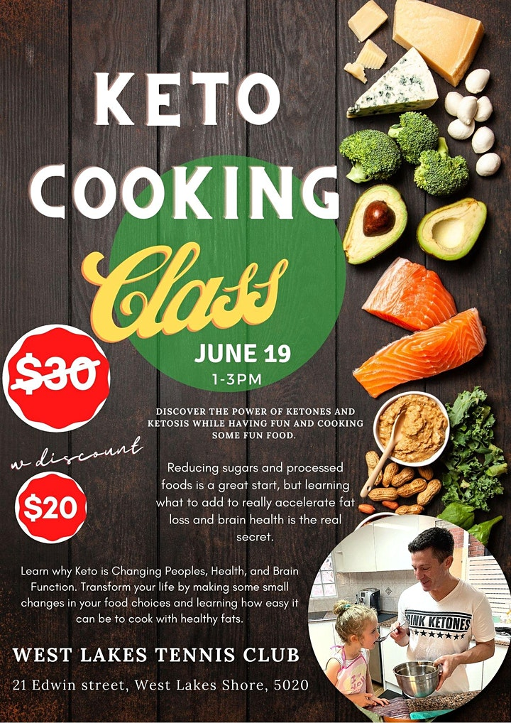 Adelaide Keto Cooking Class image
