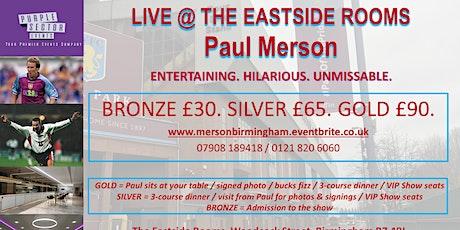 SPORTING LEGENDS @ BIRMINGHAM - Paul Merson tickets
