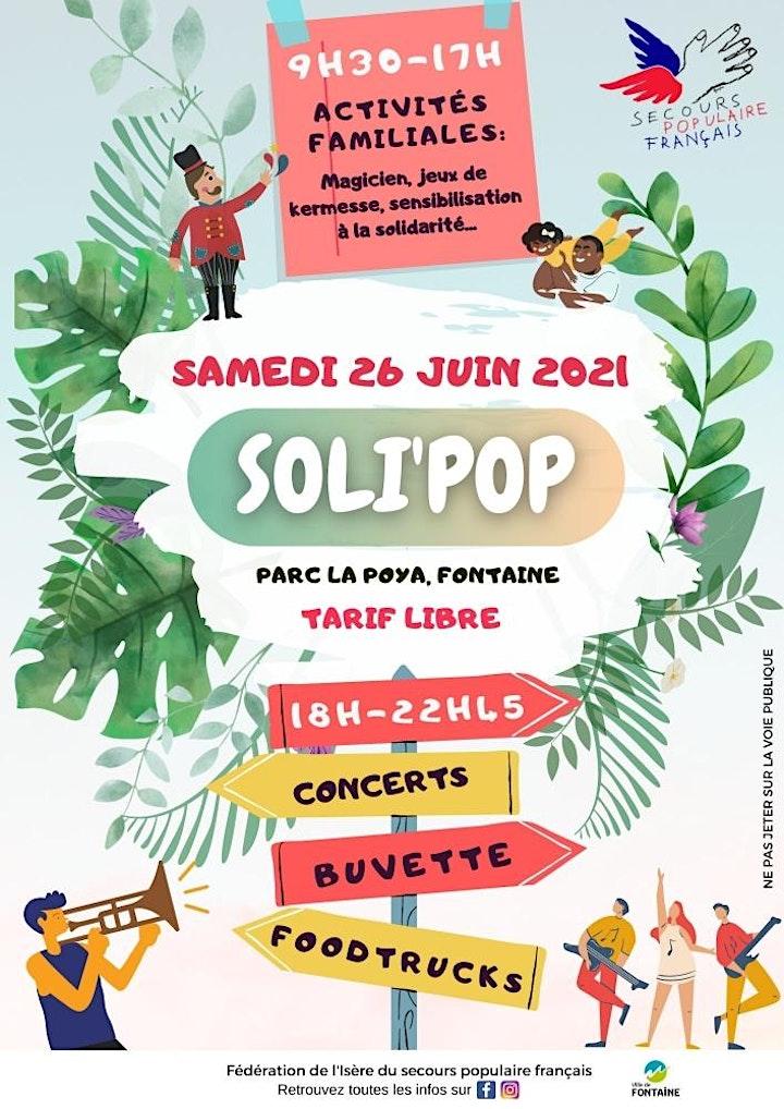 Image pour 1ère édition du festival Soli'pop du Secours populaire
