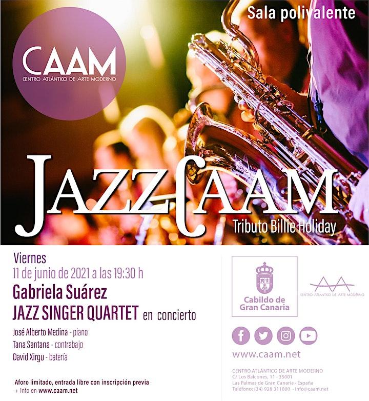 Imagen de Concierto de Gabriela Suárez Jazz Singer Quartet