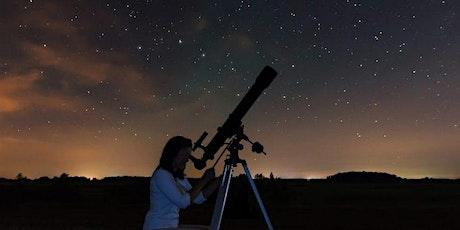 Observacion astronómica con telescopio entradas