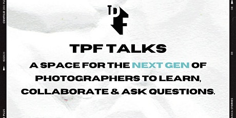 TPF TALKS - NOVEMBER tickets