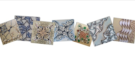 Zentangle Intermediate Course starts  July  16  (8 sessions) tickets
