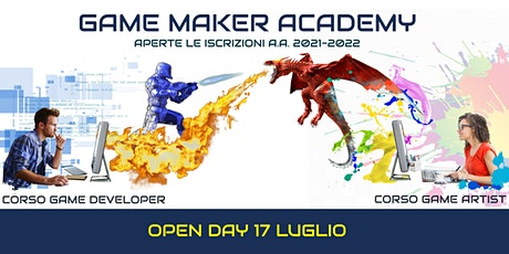 OPEN DAY - Game Maker Academy biglietti