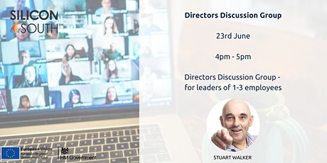 Directors Discussion Group - for leaders with 1-3 employees tickets