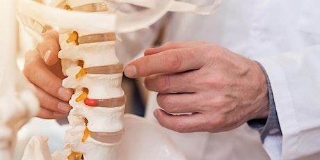 FREE Spinal Health Checks tickets