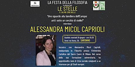 Festa della Filosofia: VISIONI DEL MONDO, Saronno, con A.M. Caprioli biglietti