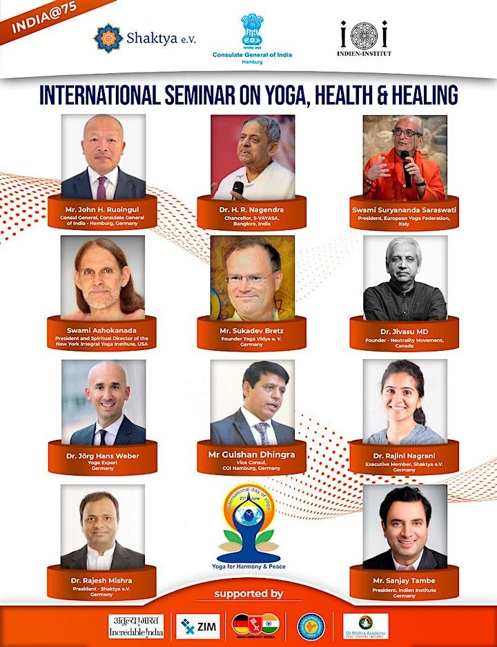 International Seminar on Yoga, Health & Healing image