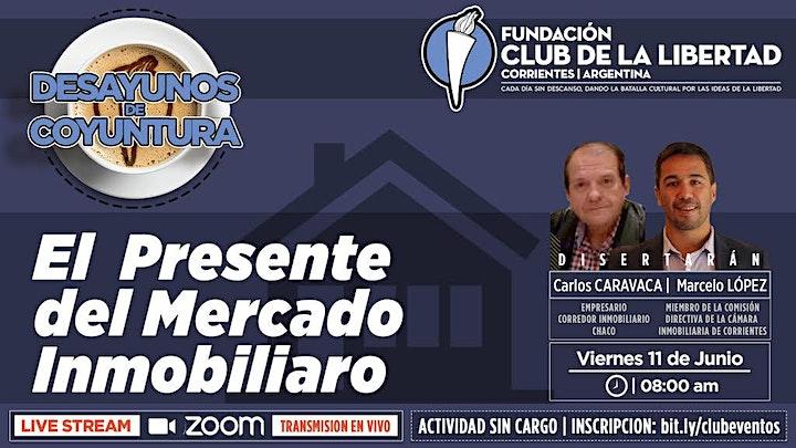 Imagen de CLUB DE LA LIBERTAD - DESAYUNO - EL PRESENTE DEL MERCADO INMOBILIARIO