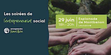 Les soirées de l'entrepreneuriat social tickets
