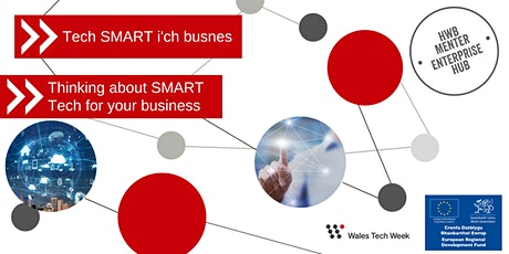 Tech SMART i'ch busnes   Thinking about SMART Tech for your business tickets